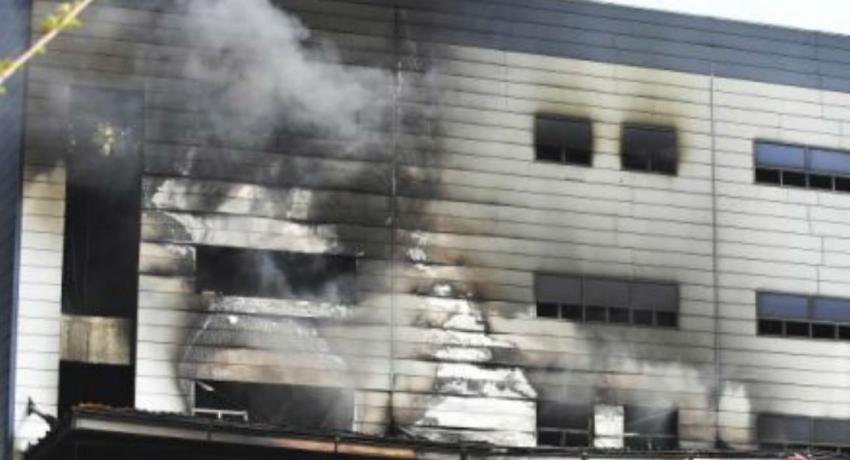 தென் கொரிய பண்டகசாலை ஒன்றில் தீ: 36 பேர் பலி