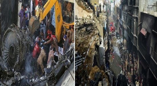பாகிஸ்தான் விமான விபத்தில் 92 பேர் உயிரிழந்துள்ளமை உறுதிப்படுத்தப்பட்டுள்ளது