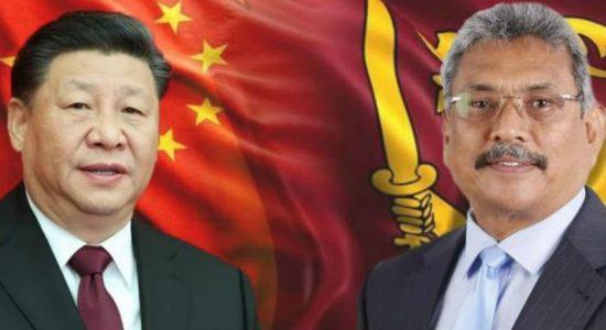 இலங்கை – சீன அரச தலைவர்கள் இடையே இணக்கப்பாடு