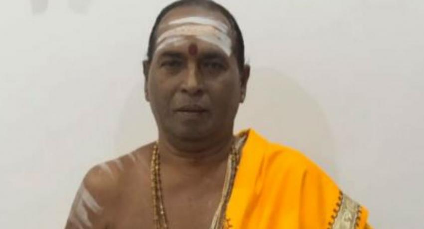 கப்பித்தாவத்தை விநாயகர் ஆலய பிரதம சிவாச்சாரியார் சிவபதமடைந்தார்