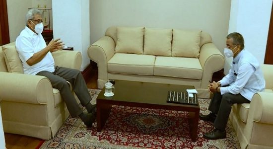 இலங்கைக்கான இந்தியாவின் புதிய உயர்ஸ்தானிகர் ஜனாதிபதியை சந்தித்தார்