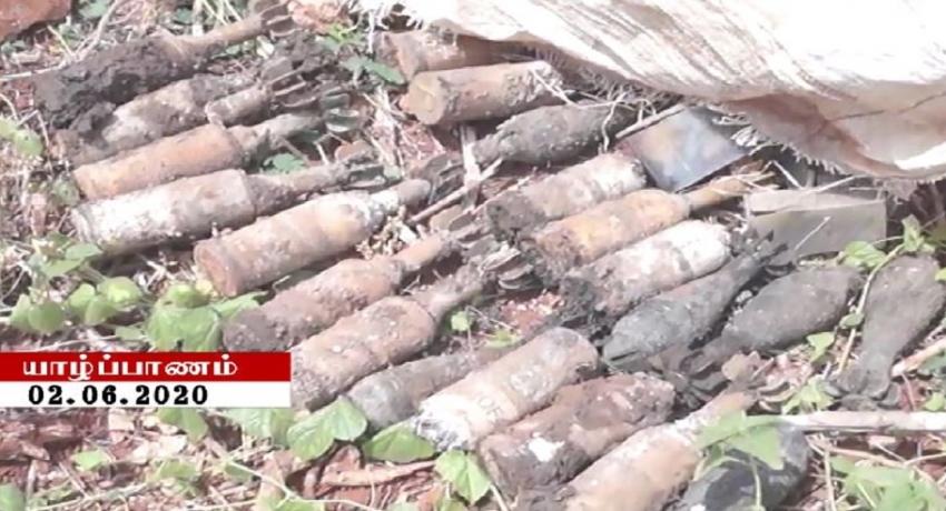 குரும்பசிட்டி பகுதி கிணற்றிலிருந்து இன்றும் வெடிபொருட்கள் மீட்பு
