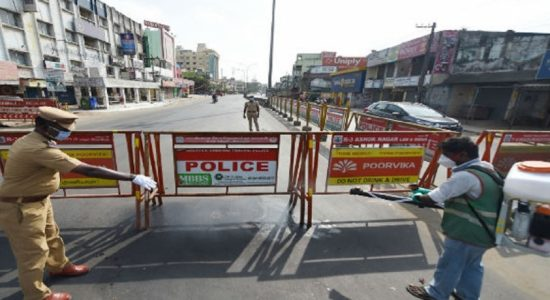 சென்னையில் இன்று முதல் 12 நாட்களுக்கு மீண்டும் ஊரடங்கு சட்டம்