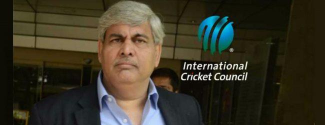 ICC தலைவர் ஷஷாங்க் மனோகர் இராஜினாமா