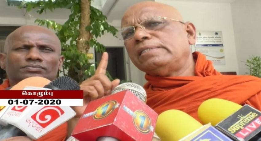 கருணா அம்மானை தேர்தல் களத்தில் இருந்து அகற்ற வேண்டும்: ஓமல்பே சோபித்த தேரர் வலியுறுத்தல்