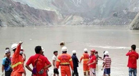 மியன்மாரில் பாரிய மண்சரிவு; 113 பேர் உயிரிழப்பு