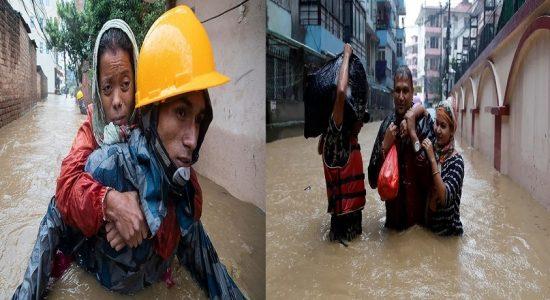 நேபாளத்தில் கனமழை: வௌ்ள அனர்த்தத்தில் சிக்கி 23 பேர் உயிரிழப்பு