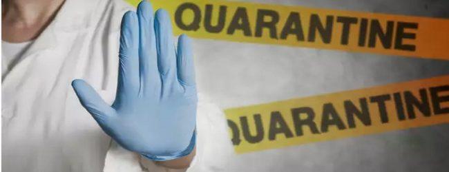 யாழ்ப்பாணம், மன்னாரில் 28 பேர் சுயதனிமைப்படுத்தப்பட்டுள்ளனர்