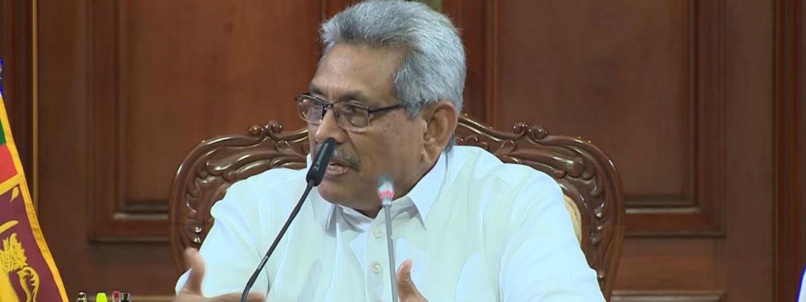 தேர்தல் பிரசாரத்தில் தனது நிழற்படத்தை பயன்படுத்த வேண்டாமென ஜனாதிபதி உத்தரவு