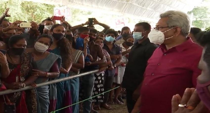 வரலாற்று சிறப்பு மிகு சமுதாயத்தைக் கட்டியெழுப்புவதாக ஜனாதிபதி வாக்குறுதி