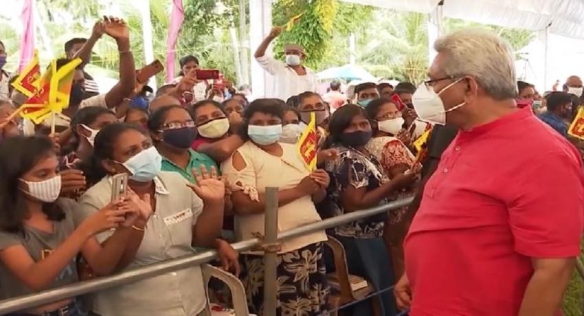 பாதாளக் குழுக்களை ஒடுக்குவதற்கு கிராம மட்டத்தில் தகவல்களை வழங்குமாறு ஜனாதிபதி கோரிக்கை