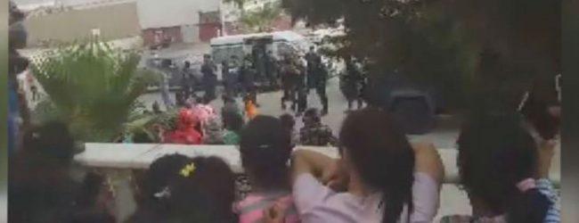 ஜோர்தானில் சிக்கியுள்ள இலங்கையர்கள் மீது கண்ணீர்ப்புகை பிரயோகம்