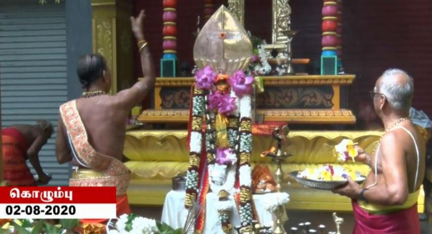 வேலாயுத பெருமான் கெப்பிட்டல் மகாராஜா தலைமையகத்தில் எழுந்தருளினார்