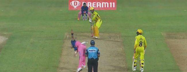 IPL: சென்னை சுப்பர் கிங்ஸை வீழ்த்தியது ராஜஸ்தான் ரோயல்ஸ் அணி