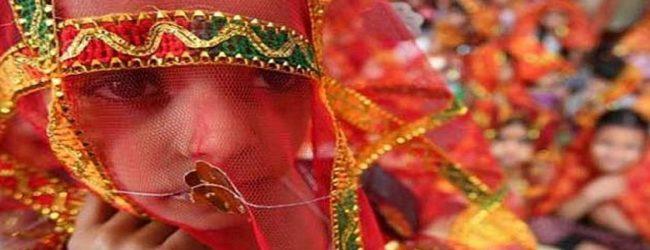 இந்தியாவில் பால்ய விவாகம் அதிகரிப்பு