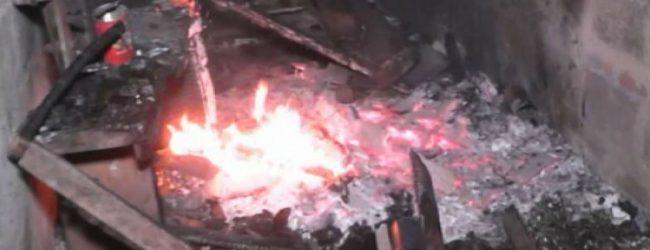 கட்டானவிலுள்ள பட்டாசு தொழிற்சாலையில் ஏற்பட்ட தீ விபத்தில் ஒருவர் உயிரிழப்பு