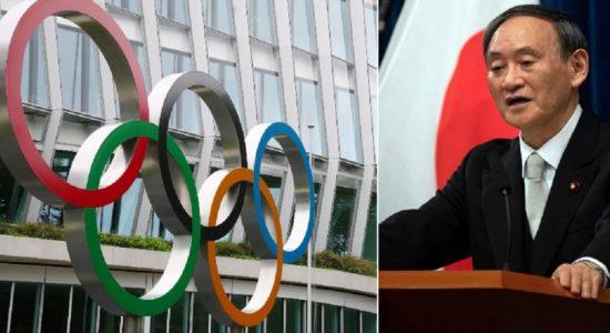2021 ஆம் ஆண்டு ஒலிம்பிக் போட்டிகள் உறுதியாக நடைபெறும்: ஜப்பான் பிரதமர்