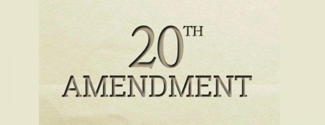 20 ஆவது அரசியலமைப்பு திருத்த சட்டமூலம் தொடர்பான மனுக்கள் மீது பரிசீலனை