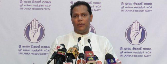 சுதந்திரக் கட்சி மீண்டும் அரசியல் செயற்பாடுகளில் ஈடுபடத் தயாராக வேண்டும்: தயாசிறி ஜயசேகர வலியுறுத்தல்