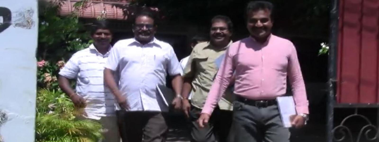 கூட்டமைப்பின் முன்னாள் பாராளுமன்ற உறுப்பினர்கள் மனித உரிமைகள் ஆணைக்குழுவில் முறைப்பாடு