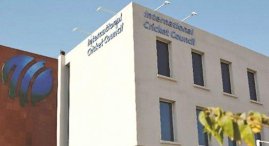 ICC தலைமையகம் தற்காலிகமாக மூடப்பட்டது