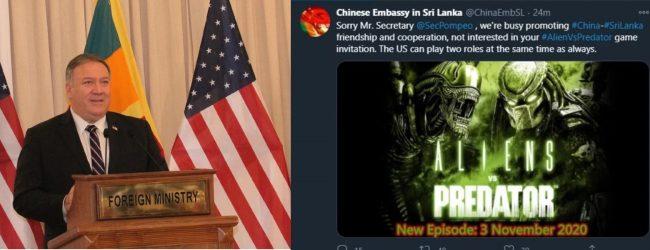 Alien Vs Predator: மைக் பொம்பியோவின் கருத்திற்கு சீனா பதிலடி