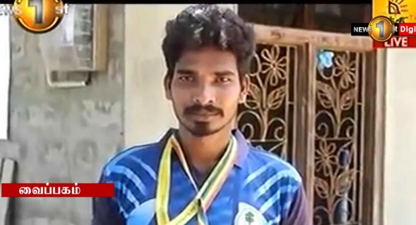மக்கள் சக்தி ஊடாக அறிமுகமான செபஸ்தியாம்பிள்ளை விஜயராஜுக்கு LPL இல் வாய்ப்பு