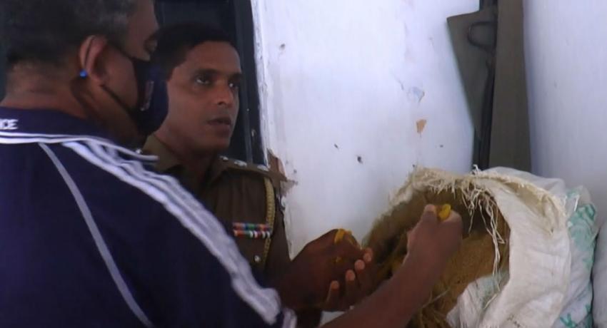 25 இலட்சம் ரூபா பெறுமதியான மஞ்சள் தொகை பொலிஸாரிடம் சிக்கியது