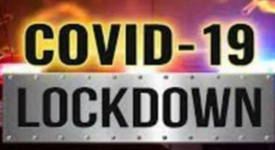 திருகோணமலையில் இரு பகுதிகள் Lockdown