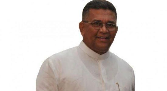 முன்னாள் பாராளுமன்ற உறுப்பினர் அப்துல்லா மஹ்ரூப் கைது