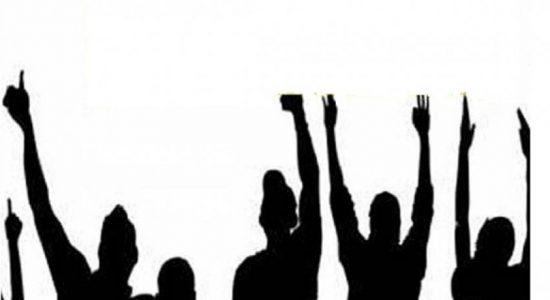 தமிழ் அரசியல் கைதிகளை விடுவிக்குமாறு கோரி கவனயீர்ப்பு போராட்டங்கள்