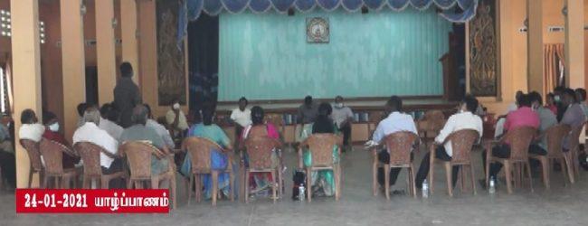தமிழ் தேசிய அரசியல் கட்சிகளின் தலைவர்கள் யாழ்ப்பாணத்தில் பேச்சுவார்த்தை
