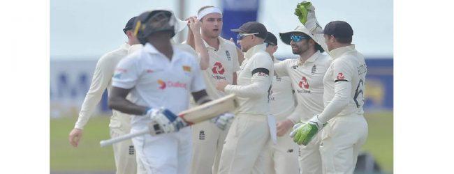 இலங்கைக்கு எதிரான முதல் டெஸ்ட்: ஸ்திரமான நிலையில் இங்கிலாந்து