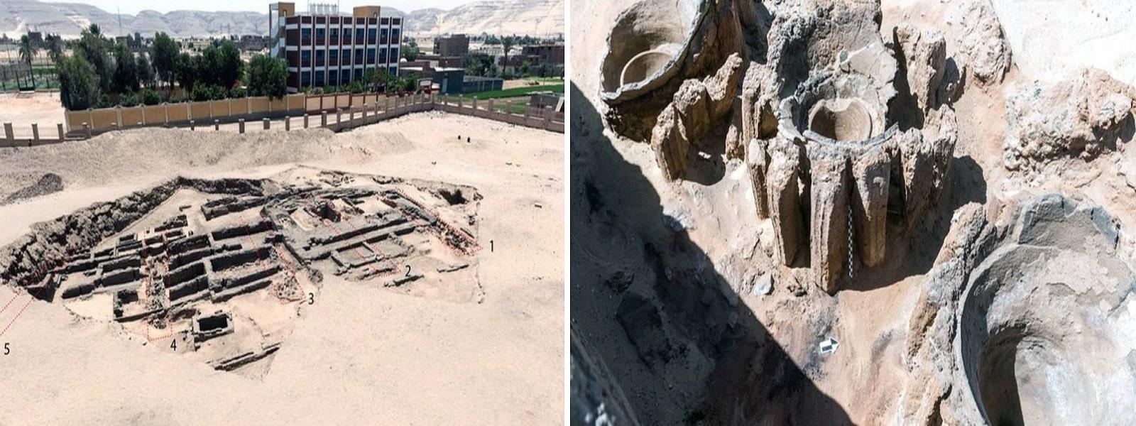 எகிப்தில் 5,000 ஆண்டுகள் பழமையான மதுபான ஆலை கண்டுபிடிப்பு