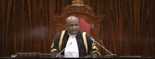 ஏப்ரல் 21 தாக்குதல்: ஜனாதிபதி ஆணைக்குழு அறிக்கை பாராளுமன்றுக்கு கிடைத்துள்ளதாக சபாநாயகர் அறிவிப்பு