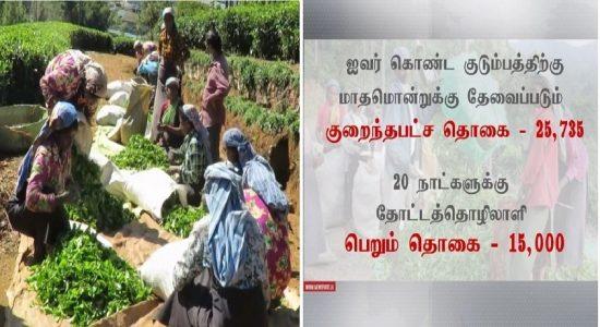 வறுமைக்கோட்டின் கீழ் பெருந்தோட்டத் தொழிலாளர்கள்: 1000 ரூபா சம்பளம் போதுமானதா?