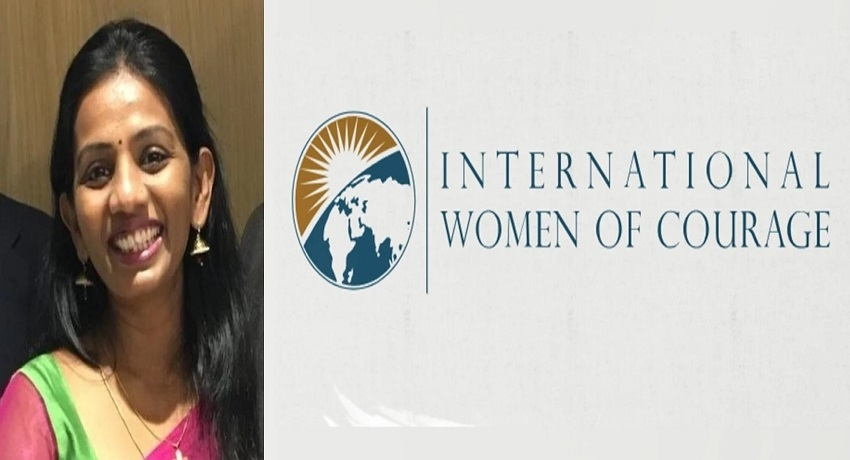 அமெரிக்க இராஜாங்க செயலாளரினால் வழங்கப்படும் IWOC விருதுக்கு தெரிவாகியுள்ள ரனிதா ஞானராஜா