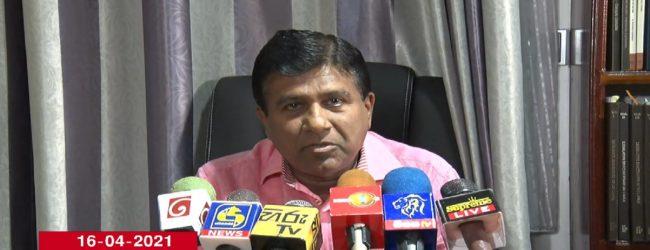 ஜனாதிபதி தொலைபேசியில் அச்சுறுத்தியதாக விஜயதாச ராஜபக்ச குற்றச்சாட்டு