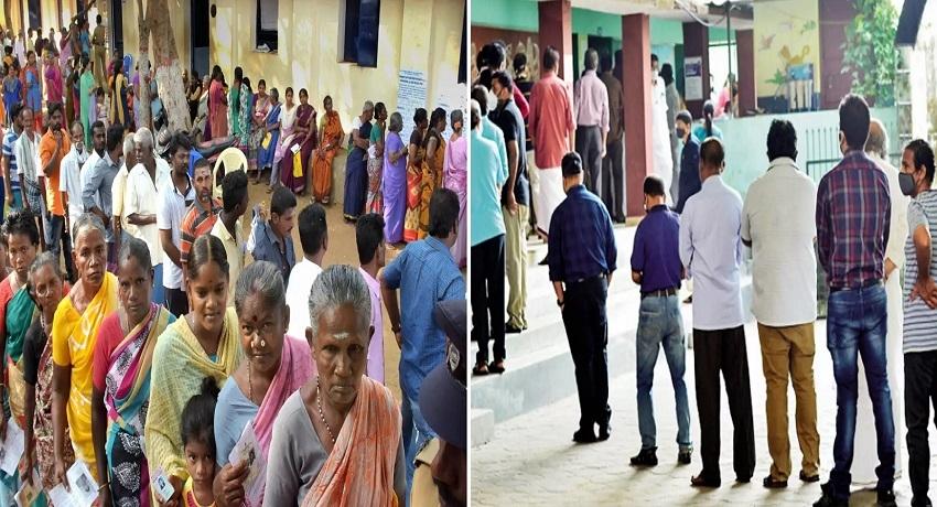தமிழக சட்டமன்றத் தேர்தல்: இயந்திரக் கோளாறால் வாக்குப்பதிவில் குளறுபடி