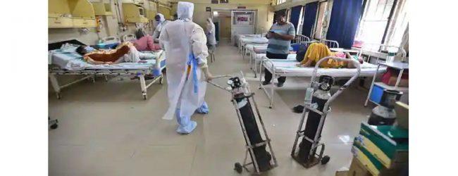 இந்தியாவில் கொரோனா கோரத்தாண்டவம்: ஒக்சிஜன் தட்டுப்பாட்டால் டெல்லி வைத்தியசாலையில் 25 பேர் உயிரிழப்பு