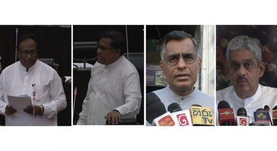 ஏப்ரல் 21 தாக்குதலின் பிரதான சூத்திரதாரி யார்: பாராளுமன்றத்தில் வாதப் பிரதிவாதம்
