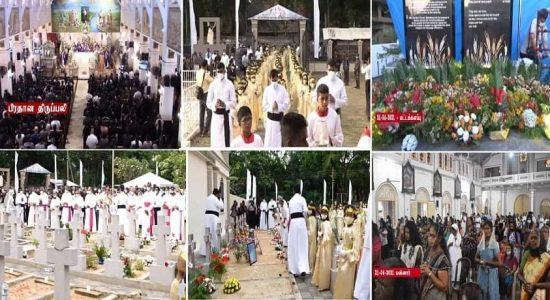 ஏப்ரல் 21 தாக்குதல் இடம்பெற்று 2 வருடங்கள் பூர்த்தி; நாடளாவிய ரீதியில் மக்கள் அஞ்சலி