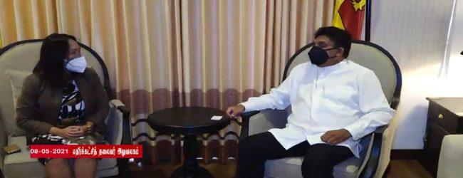 உலக சுகாதார ஸ்தாபனத்தின் இலங்கை பிரதிநிதி – எதிர்க்கட்சித் தலைவர் சந்திப்பு