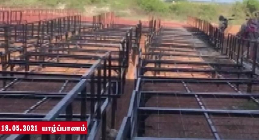 யாழ். தேசிய இளைஞர் சேவை மன்றத்தினால் 165 கட்டில்கள் தயாரிக்கப்பட்டன