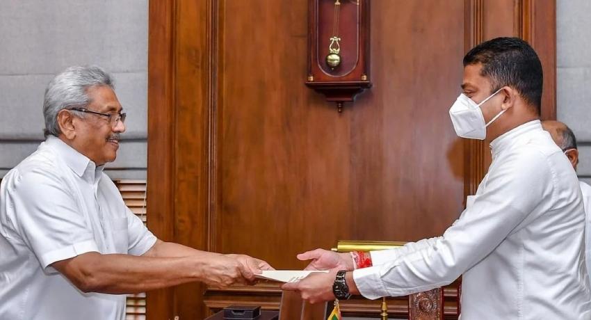 திலும் அமுனுகமவிற்கு மற்றுமொரு இராஜாங்க அமைச்சு பதவி