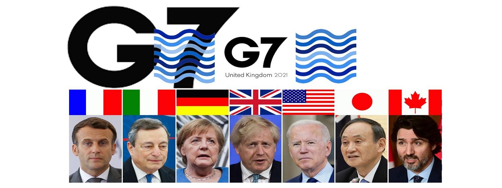 வறிய நாடுகளுக்கு 100 கோடி தடுப்பூசிகளை வழங்கும் G7 நாடுகள்