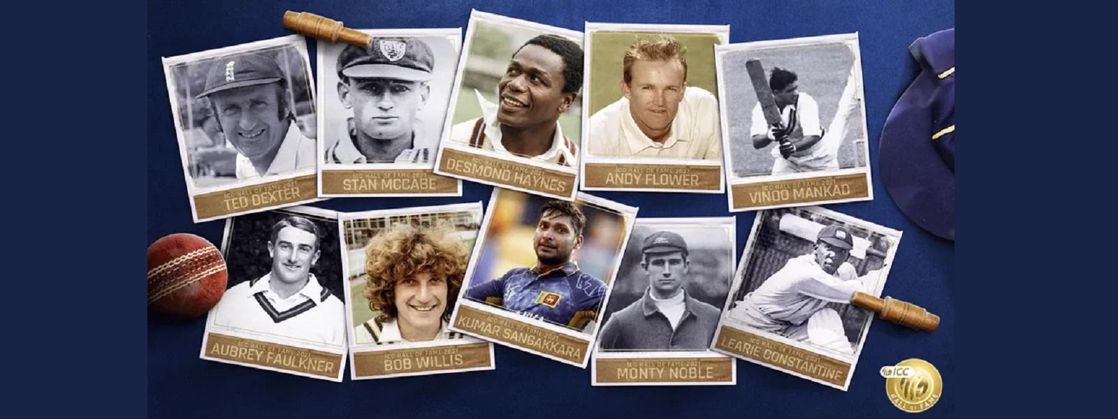 குமார் சங்கக்கார உள்ளிட்ட 10 கிரிக்கெட் வீரர்களுக்கு Hall of Fame கௌரவம்