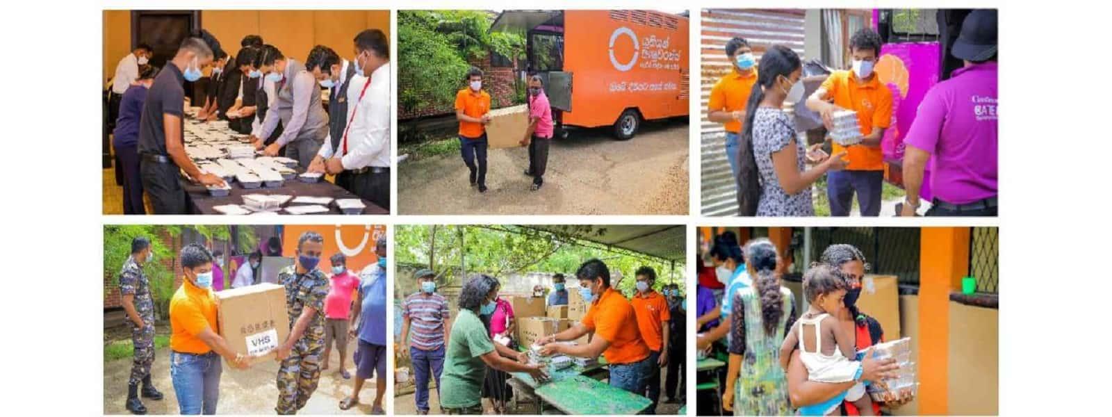 யூனியன் அஷ்யூரன்ஸ், சினமன் ஹோட்டல்ஸ் மற்றும் ரிசோர்ட்ஸ் இணைந்து வெள்ள அனர்த்தத்தினால் பாதிக்கப்பட்டவர்களுக்கு 3000-க்கும் அதிகமான உணவுப் பொதிகள் விநியோகம்