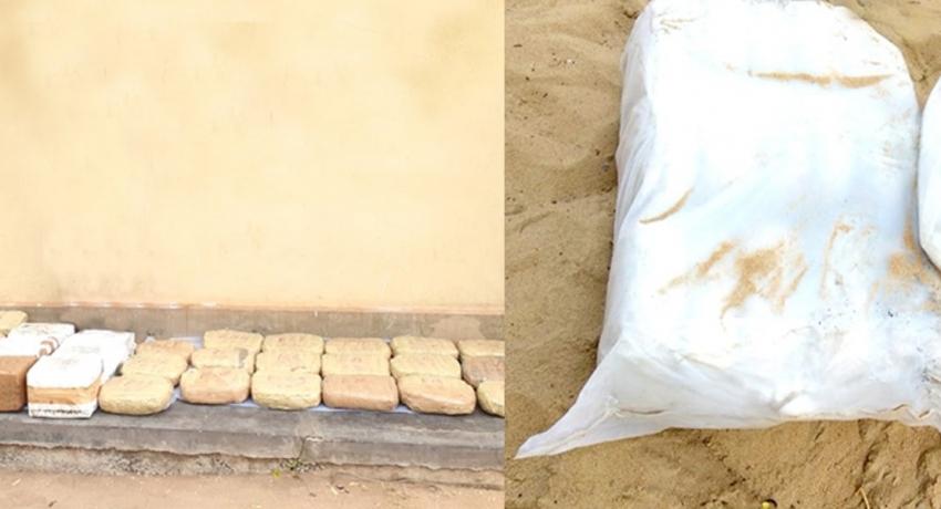 வெற்றிலைக்கேணியில் 32 மில்லியன் ரூபா பெறுமதியான கேரள கஞ்சா கைப்பற்றல்