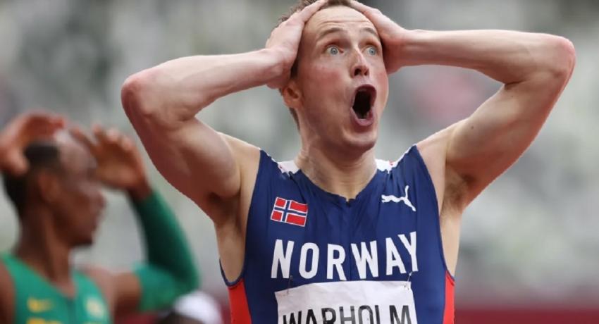 400 மீட்டர் தடைதாண்டல் ஓட்டத்தில் புதிய உலக சாதனை